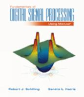 Cover image for Fundamentals of digital signal processing using matlab