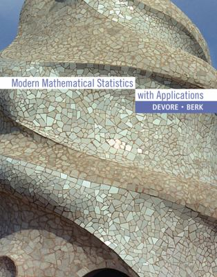 Cover image for Modern mathematical statistics with applications