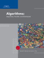 Cover image for Algorithms : sequential, parallel, and distributed