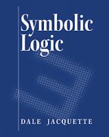 Cover image for Symbolic logic