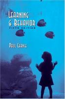 Cover image for Learning & behavior