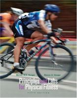 Cover image for Principles and labs for physical fitness