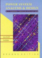 Cover image for Power system analysis and design