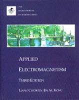 Cover image for Applied electromagnetism