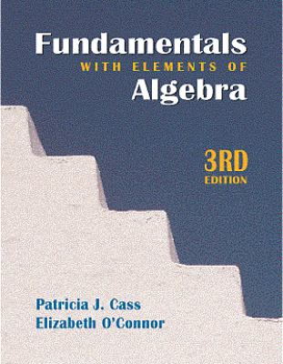 Cover image for Fundamentals with elements of algebra