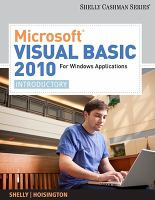 Cover image for Visual Basic 2010 for Windows applications : introductory