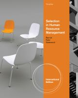 Cover image for Human resource selection