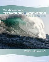 Cover image for The management of technology and innovation : a strategic approach