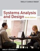 Cover image for Systems analysis and design