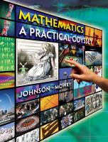 Cover image for Mathematics : a practical odyssey
