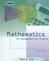 Cover image for Mathematics for management and finance