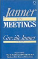 Cover image for Janner on meetings