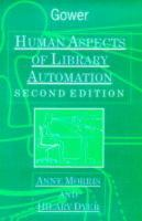 Cover image for Human aspects of library automation