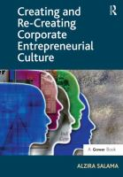 Cover image for Creating and re-creating corporate entrepreneurial culture