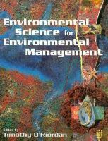 Cover image for Environmental science for environmental management