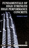 Cover image for Fundamentals of high strength high performance concrete
