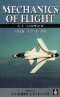 Cover image for Mechanics of flight