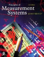 Cover image for Principles of measurement systems