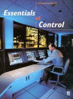 Cover image for Essentials of control