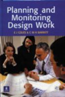 Cover image for Planning and monitoring design work