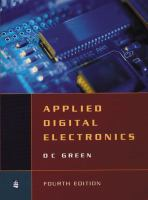 Cover image for Applied digital electronics