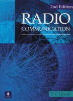 Cover image for Radio communication