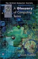 Cover image for The glossary of computing terms