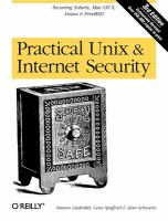 Cover image for Practical Unix and internet security