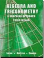 Cover image for Algebra and trigonometry : a graphing approach