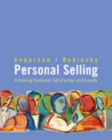 Cover image for Personal selling : achieving customer satisfaction and loyalty