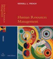 Cover image for Human resources management
