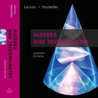 Cover image for Algebra and trigonometry