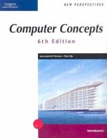 Cover image for New perspectives on computer concepts : introductory