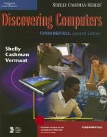 Cover image for Discovering computers : fundamentals