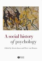 Cover image for A social history of psychology