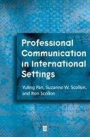 Cover image for Professional communication in international settings