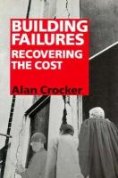 Cover image for Building failures : recovering the cost