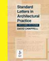 Cover image for Standard letters in architectural practice