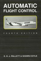 Cover image for Automatic flight control