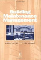 Cover image for Building maintenance management