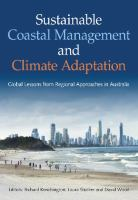 Cover image for Sustainable coastal management and climate adaptation : global lessons from regional approaches in Australia