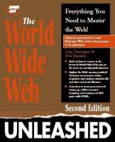 Cover image for The World Wide Web unleashed