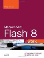 Cover image for Macromedia Flash 8 @work projects and techniques to get the job done