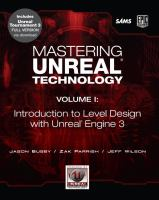 Cover image for Mastering Unreal technology