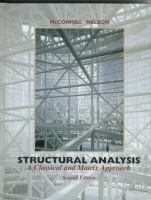 Cover image for Structural analysis and behavior for engineering education