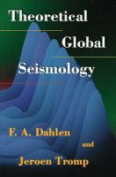 Cover image for Theoretical global seismology