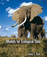 Cover image for Models for ecological data : an introduction