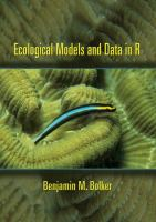 Cover image for Ecological models and data in R