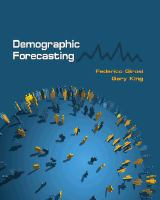 Cover image for Demographic forecasting
