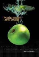 Cover image for Mathematics for physics and physicists